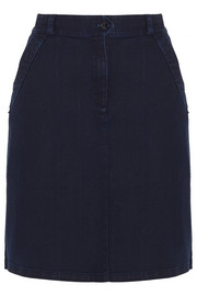 Dolly stretch-denim skirt