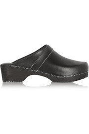 Funkis Leather clogs