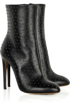 Roberto Cavalli Studded leather boots