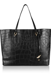 Sutra Ready To Go large croc-effect leather tote