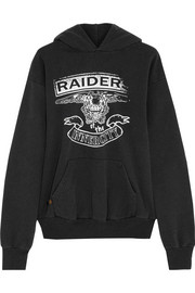 Finds + InnerCity Raiders cotton-blend jersey hooded top