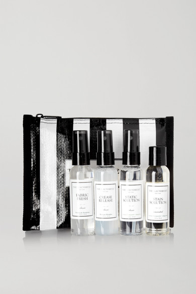 THE LAUNDRESS Travel Pack Fabric Care Set in Colorless