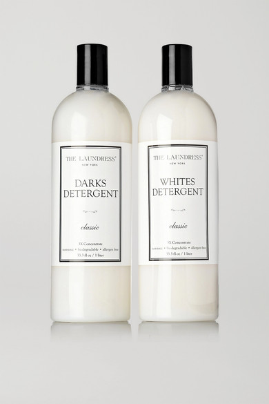 THE LAUNDRESS Whites & Darks Fabric Care Set in Colorless