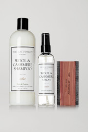 Wool and cashmere care set