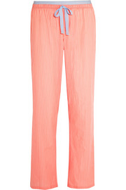 Calvin Klein Underwear Striped cotton pajama pants