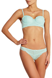 Lune De Miel stretch-lace thong