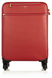Serapian Evolution textured-leather travel trolley