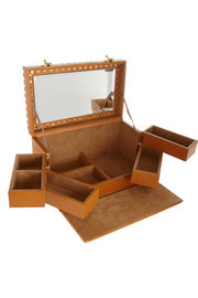 Eddie Borgo Lizard-effect leather jewelry box
