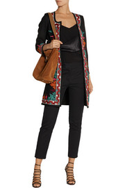 Talitha Embroidered wool coat