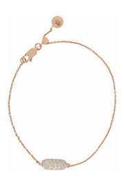 Monica Vinader Vega rose-gold-plated diamond bracelet