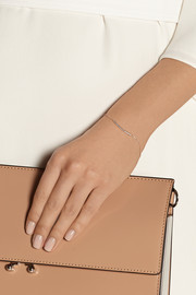 Skinny Bar rose gold-plated diamond bracelet