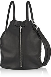 Elizabeth and James Cynnie Sling leather backpack