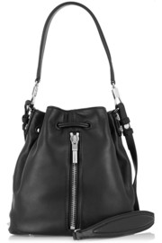 Elizabeth and James Cynnie Mini leather shoulder bag