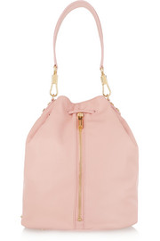 Cynnie Sling leather backpack