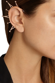Arme De L'Amour Rose gold-plated ear cuff