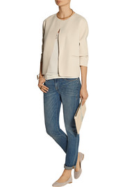 By Malene Birger Wasikio lace-paneled stretch-modal camisole