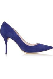 Sophia Webster Lola suede pumps
