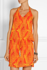 Vix Menfis printed voile coverup