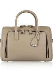 Anya Hindmarch Maxi Zip textured-leather tote