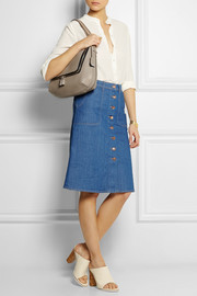 Anya Hindmarch Maxi Zip textured-leather shoulder bag