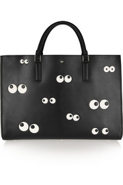Anya Hindmarch Nocturnal Ebury Maxi embossed leather tote