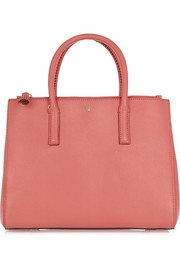 Ebury small textured-leather tote