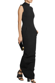 Rick Owens Marella stretch-woven maxi dress