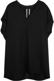 Rick Owens Oversized stretch-jersey top