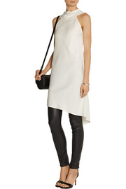 Rick Owens Wishbone stretch-crepe top