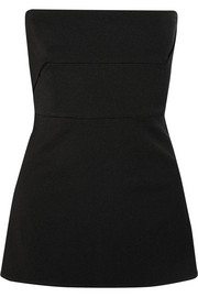 Rick Owens Anthem grosgrain bustier top