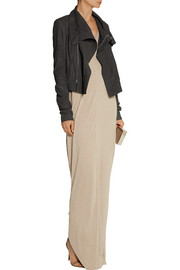 Rick Owens Floating jersey maxi dress