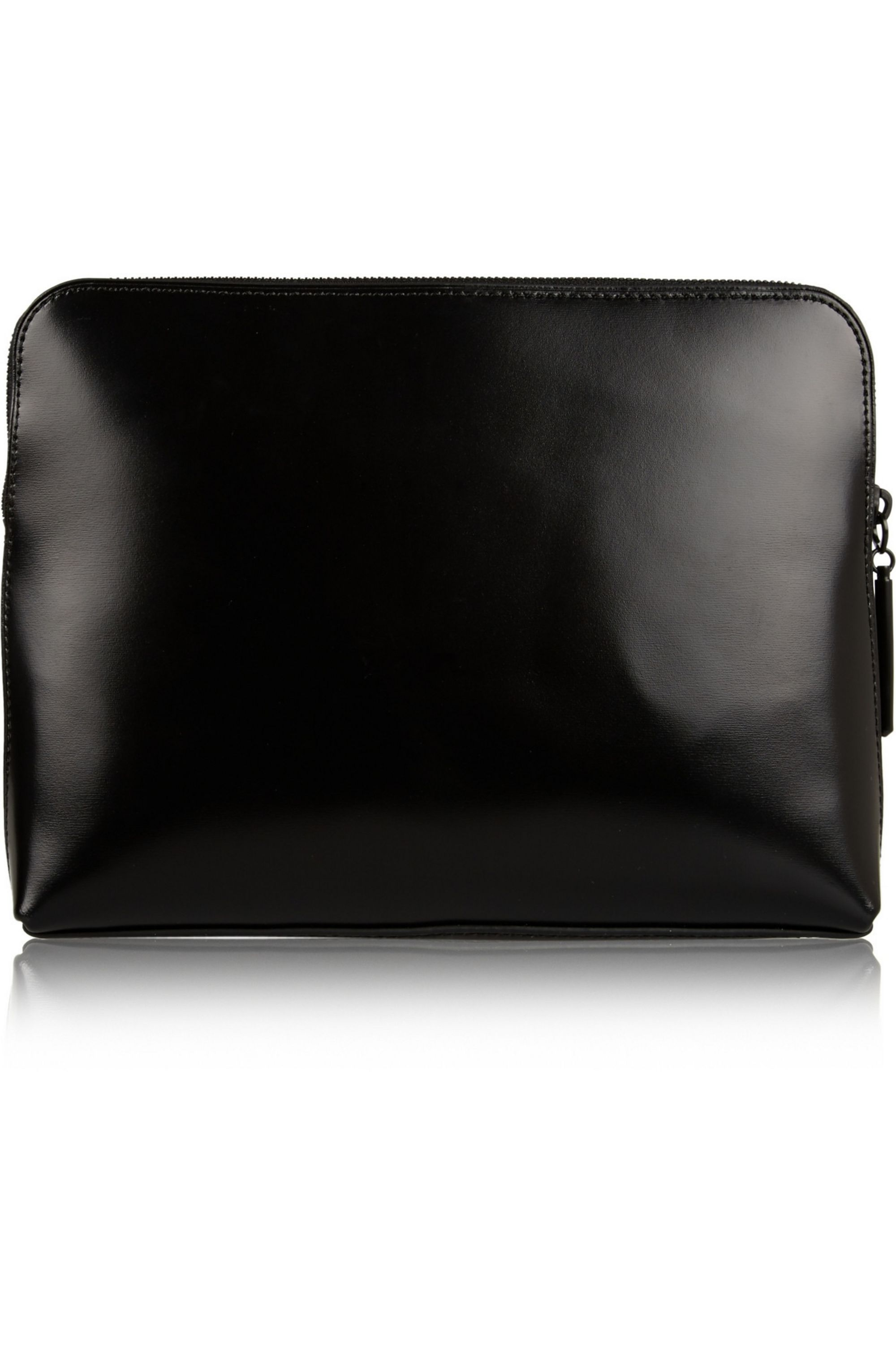 3.1 Phillip Lim 31 Minute Cosmetic Zip textured-leather clutch