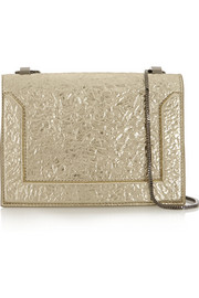 3.1 Phillip Lim Soleil metallic textured-leather shoulder bag
