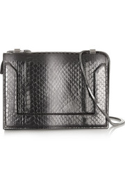 3.1 Phillip Lim Elaphe and leather shoulder bag