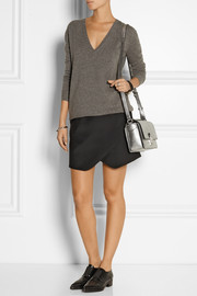 3.1 Phillip Lim The Pashli Mini Messenger textured-leather shoulder bag