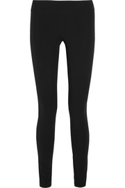 Stretch-twill leggings