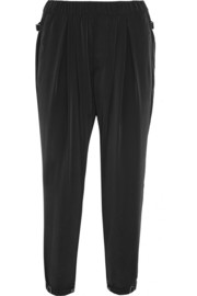 Helmut Lang Terra washed-satin tapered pants