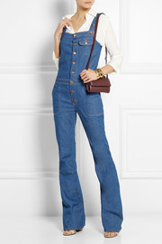 MiH Jeans The Dix stretch-denim flared overalls
