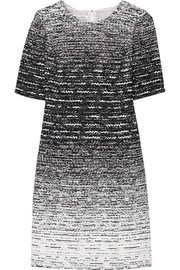 Dégradé tweed dress