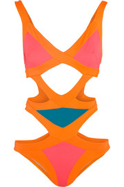 Mazzy Popstar cutout swimsuit