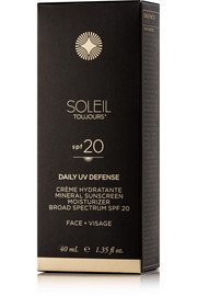 Soleil Toujours SPF20 Daily Moisturizer For Face, 50ml