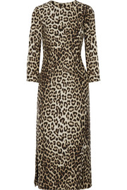 Rag & bone Leopard-print silk dress