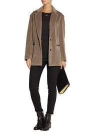 Rag & bone Sigrid suri, alpaca and wool-blend coat