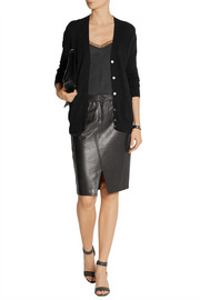 Tampa leather skirt
