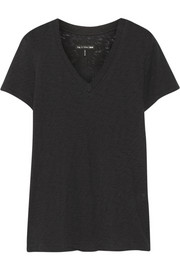 The Jackson V slub cotton-jersey T-shirt
