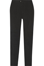 The Alpine crepe straight-leg pants