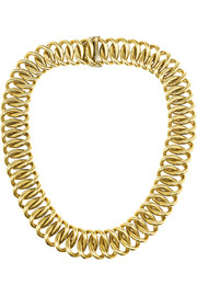 Olivia Collings 1980s 18-karat gold necklace
