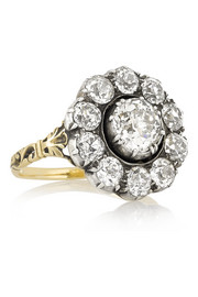 Olivia Collings 1860s 18-karat gold diamond ring