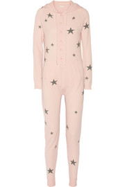 Chinti and Parker Star-intarsia cashmere jumpsuit