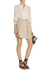 See by Chloé Pleated crepe shirt